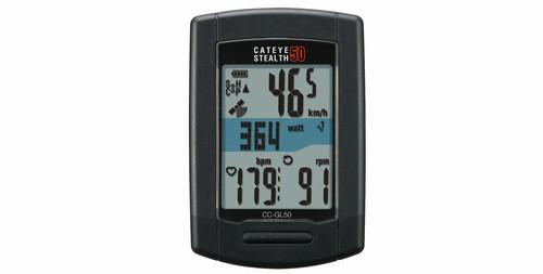 キャットアイ(CAT EYE) CC-GL50 [ステルス50] GPS ANT+対応 スピードセンサーレス