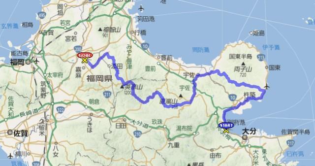 BRM502別府200km