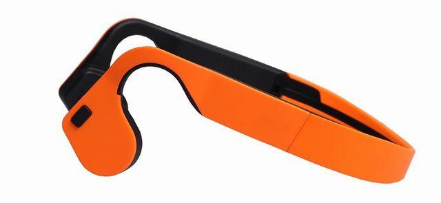 Andoer X1 後掛け式 骨伝導 ヘッドセット ワイヤレス+Bluetooth4.0 +ステレオ イヤホン HIFI音質 ハンズフリー機能 防水 スマートフォン/Tablet PC/Notebookなど対応