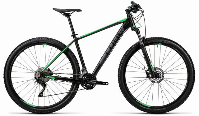"Cube Attention 29"" Hardtail Mountain Bike 2016"