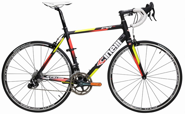 Cinelli Strato Faster Athena EPS 11 Carbon Road Bike - Fulcrum Wheelset Edition