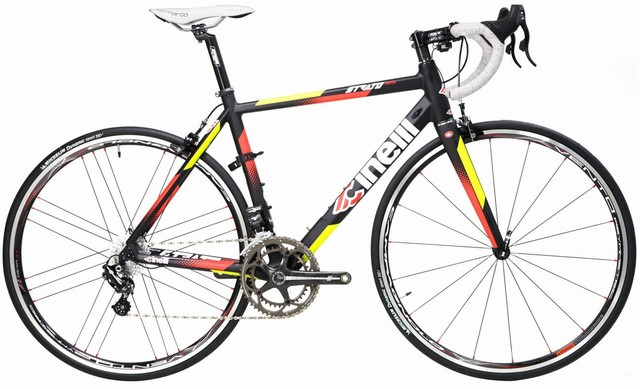 Cinelli Strato Faster Athena EPS 11 Carbon Road Bike - Campagnolo Wheelset Edition