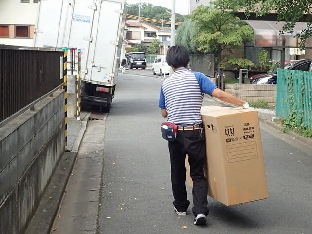 ロードバイクの梱包