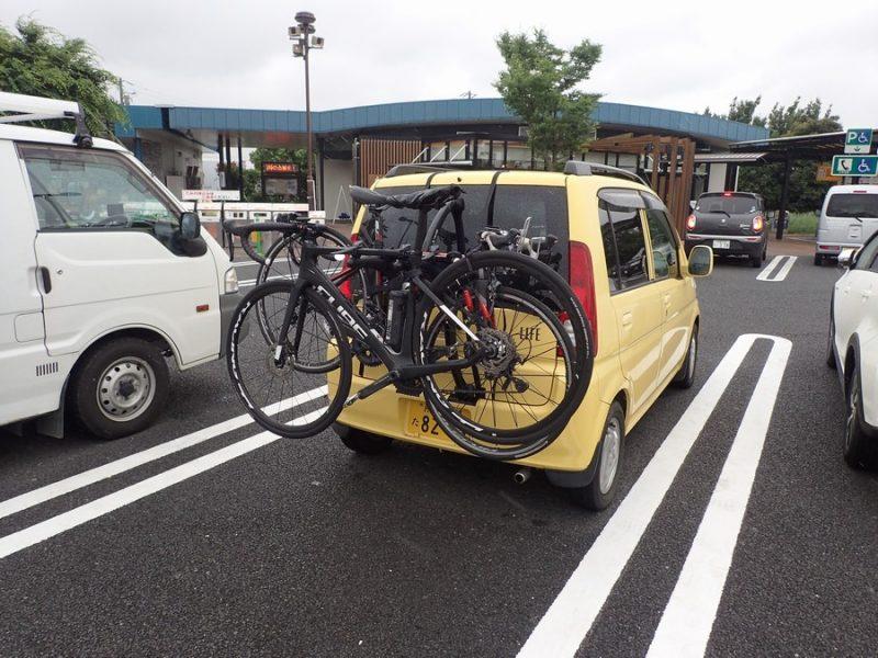 サイクルキャリア 軽自動車