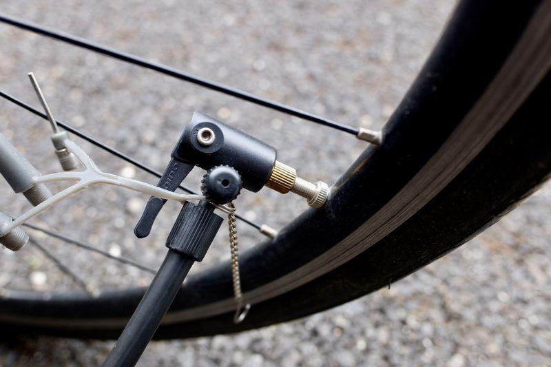 ロードバイク 空気圧